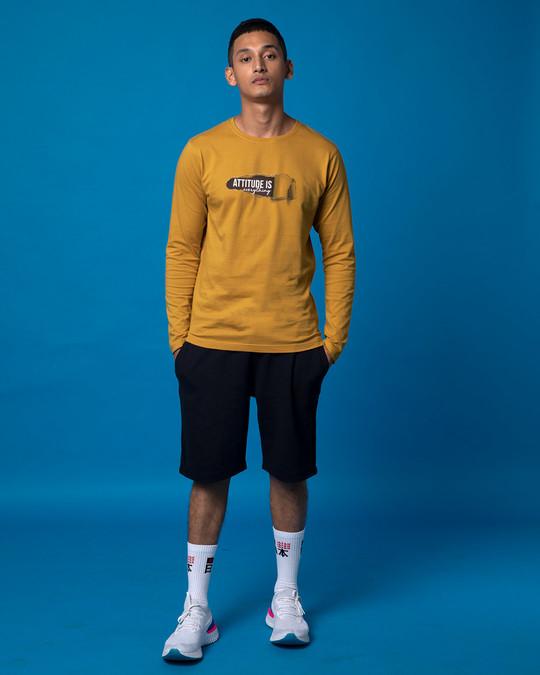 Shop Attitude Is Everything Full Sleeve T-Shirt-Full