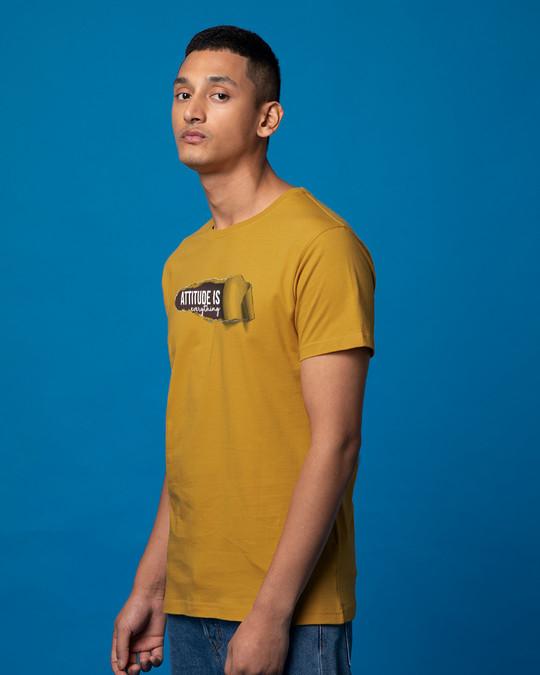 Shop Attitude Is Everything Half Sleeve T-Shirt-Full