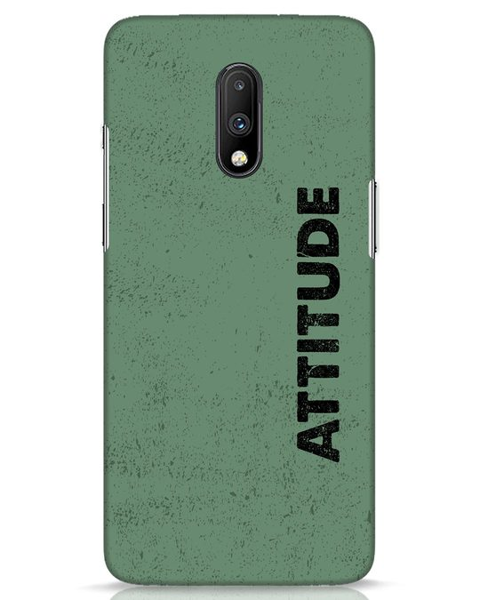 Shop Attitude OnePlus 7 Mobile Cover-Front