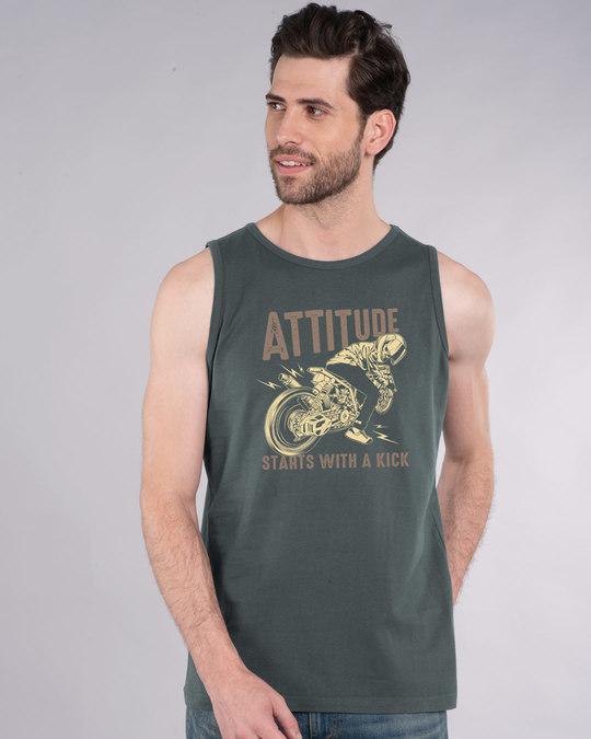 Shop Attitude Starts Vest-Front