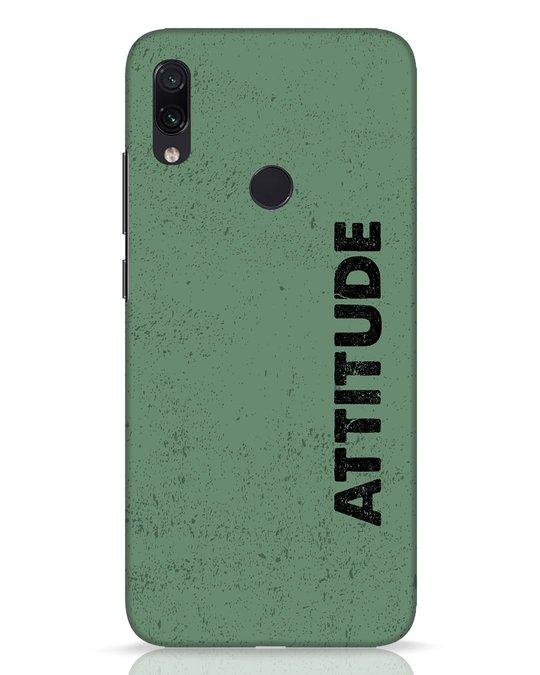 Shop Attitude Xiaomi Redmi Note 7 Pro Mobile Cover-Front