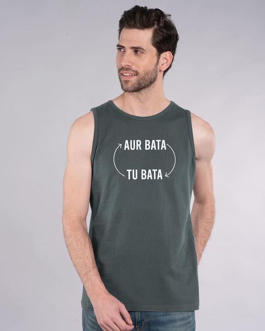 Shop Aur Bata Tu Bata Vest-Front