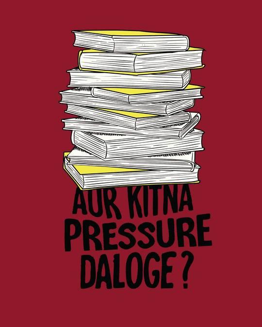 Shop Aur Kitna Pressure Full Sleeve T-Shirt