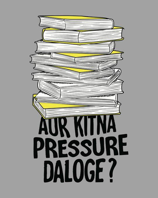 Shop Aur Kitna Pressure Full Sleeve T-Shirt-Full
