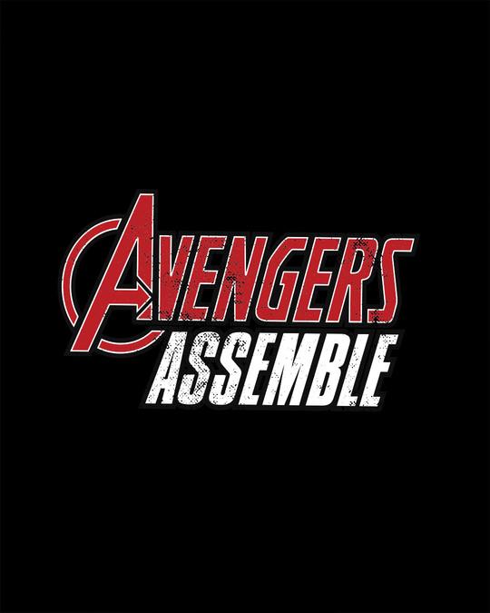 Shop Avengers Are Assembled Full Sleeve T-Shirt (AVEGL)