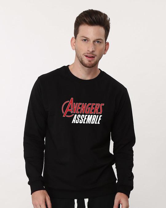 Shop Avengers Are Assembled Sweatshirt (AVEGL)-Front