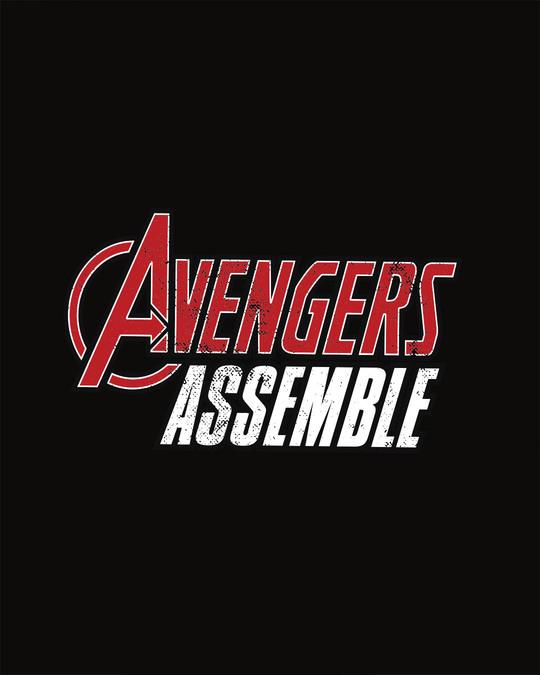 Shop Avengers Are Assembled Sweatshirt (AVEGL)-Full