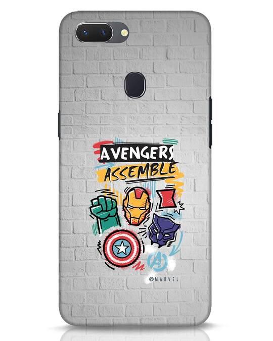 Shop Avengers Assemble Realme 2 Mobile Cover (AVL)-Front