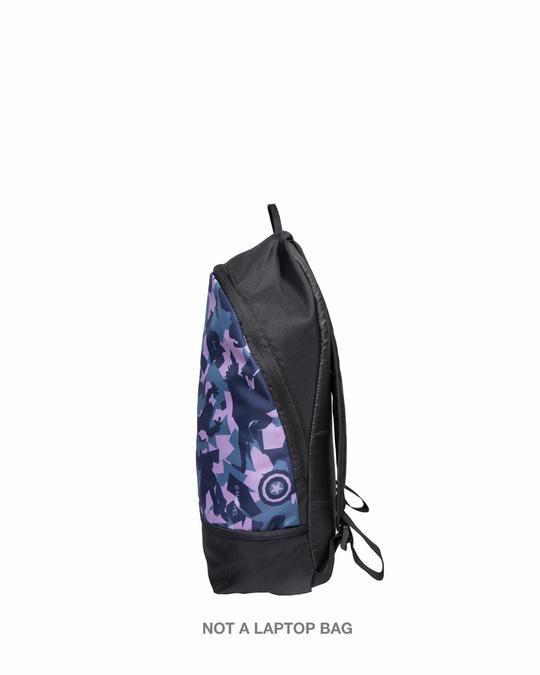 Shop Avengers Camouflage Printed Mini Small Backpacks (AVL)-Back
