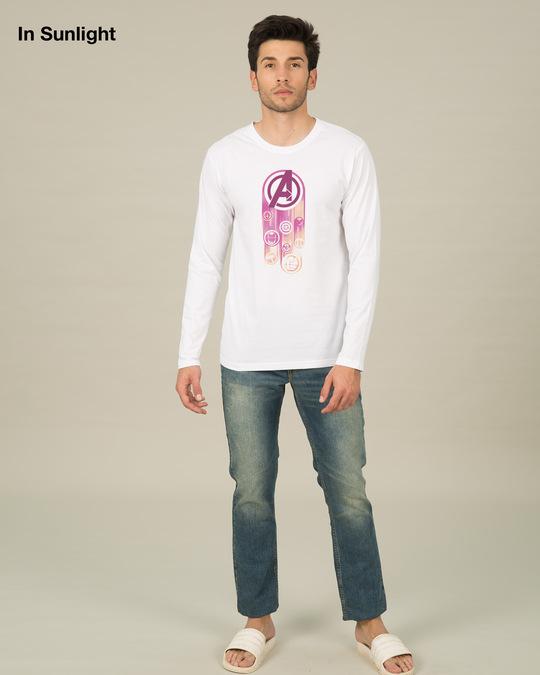 Shop Avengers Circle Sun Active T-Shirt (AVL)