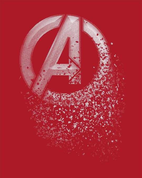 Shop Avengers Dispersion Half Sleeve T-Shirt (AVL)