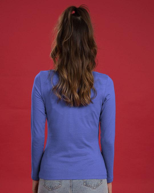 Shop Avengers Doodle Logo Scoop Neck Full Sleeve T-Shirt (AVL)-Back