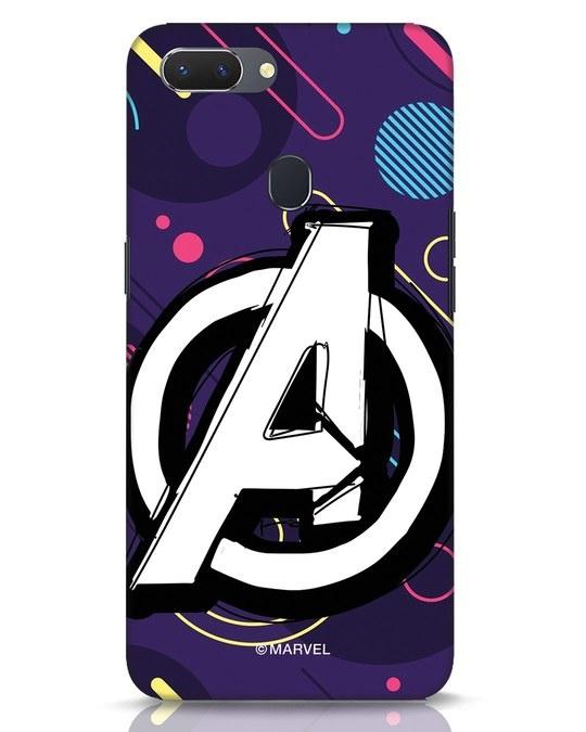 Shop Avengers Doodle Realme 2 Mobile Cover (AVL)-Front