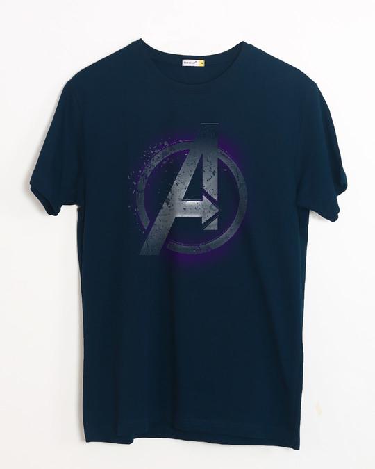 Shop Avengers Endgame Half Sleeve T-Shirt (AVL)-Front