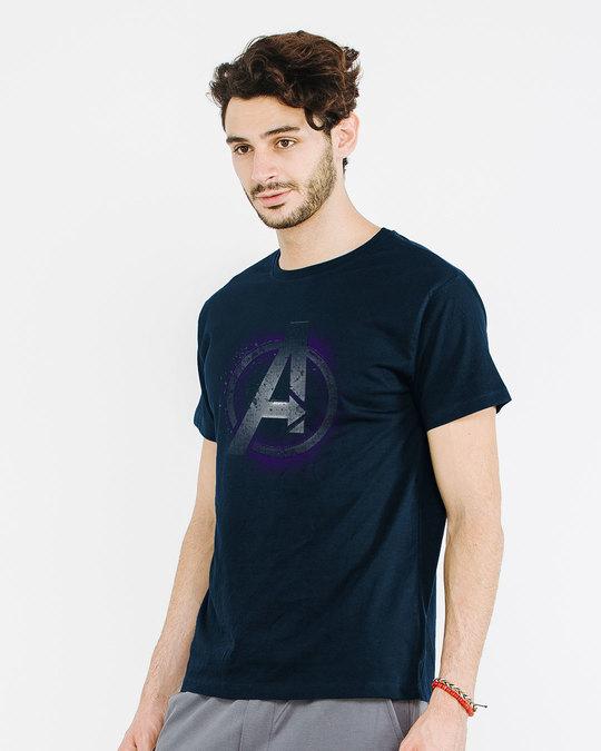 Shop Avengers Endgame Half Sleeve T-Shirt (AVL)-Design