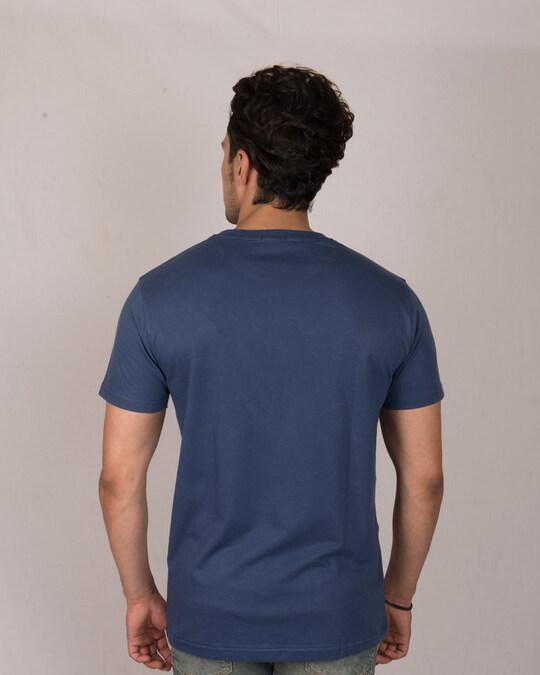 Shop Avengers Endgame Logos Half Sleeve T-Shirt (AVL)-Back