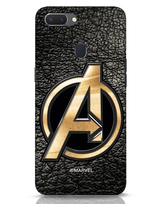 Shop Avengers Gold Logo Realme 2 Mobile Cover-Front