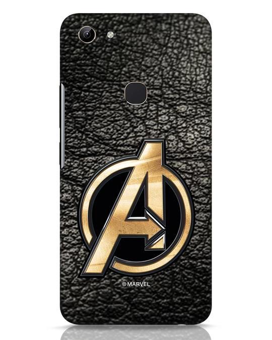 Shop Avengers Gold Logo Vivo Y81 Mobile Cover-Front