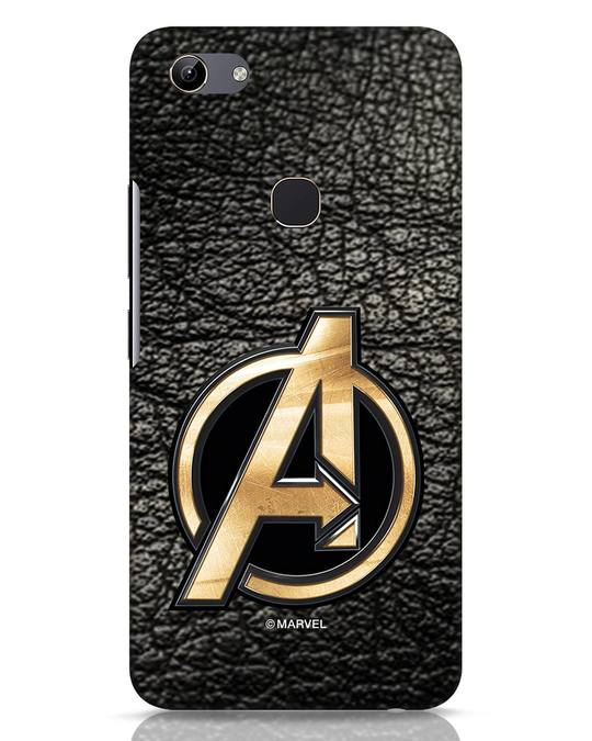 Shop Avengers Gold Logo Vivo Y81 Mobile Cover-Front