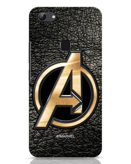 Shop Avengers Gold Logo Vivo Y83 Mobile Cover-Front