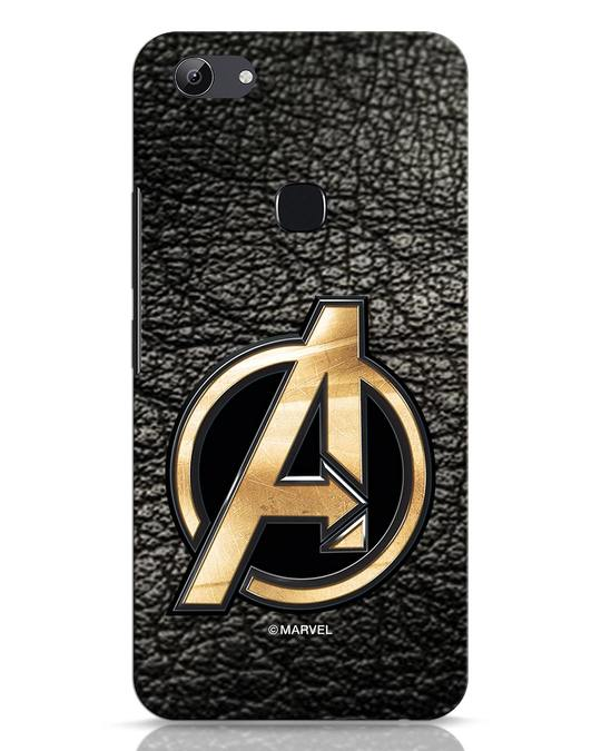 Shop Avengers Gold Logo Vivo Y83 Mobile Cover-Front