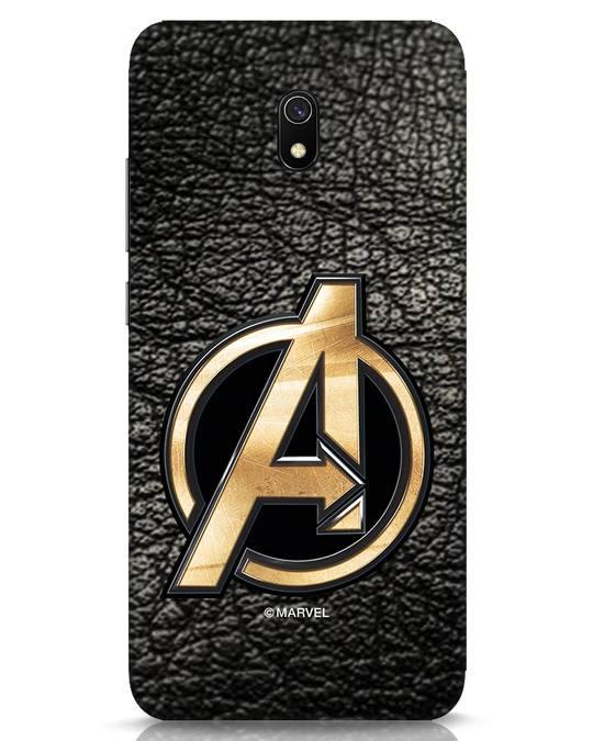 Shop Avengers Gold Logo Xiaomi Redmi 8A Mobile Cover-Front