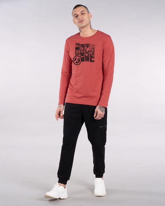 Shop Avengers Heroes Full Sleeve T-Shirt (AVL)-Full