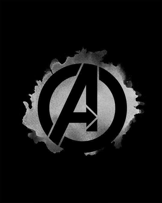 Shop Avengers Inked Boyfriend T-Shirt (AVL)