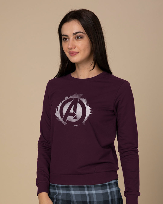 Shop Avengers Inked Sweatshirt (AVL)-Back