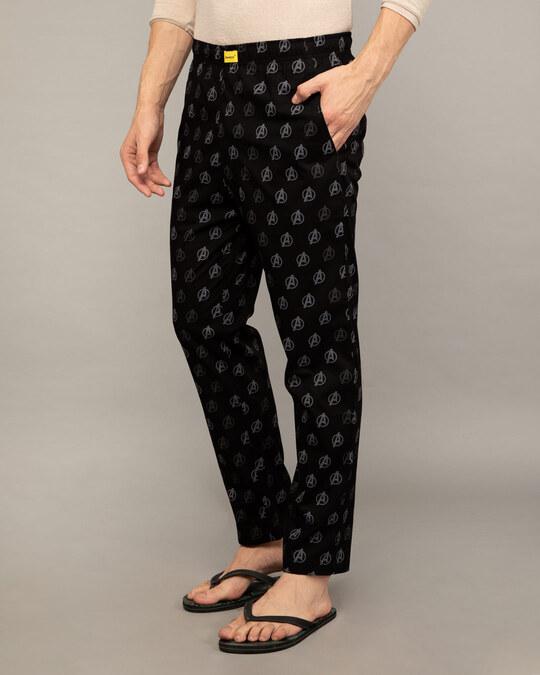 Shop Avengers Only Poplin Pyjama-Back