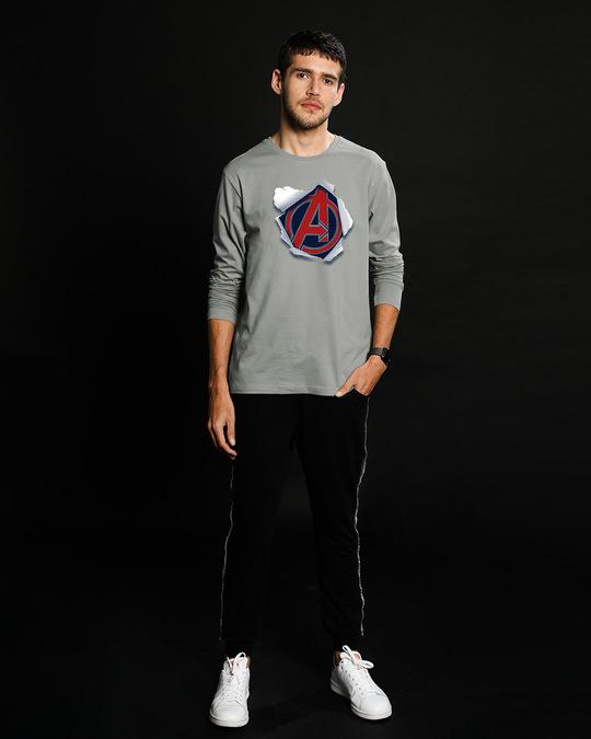 Shop Avengers Paper Full Sleeve T-Shirt (AVL)-Full