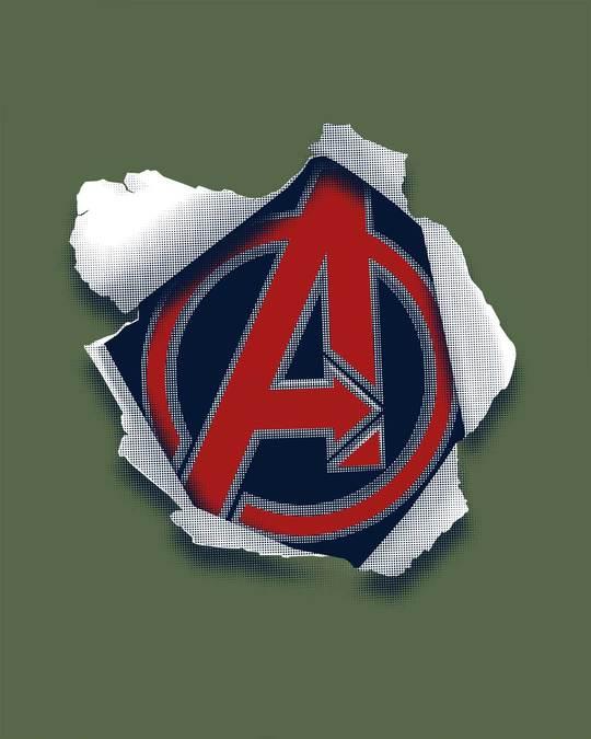 Shop Avengers Paper Sweatshirt (AVL)