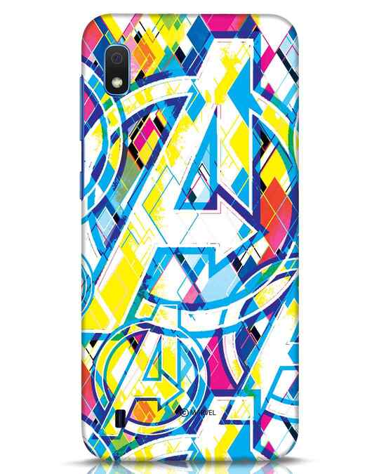 Shop Avengers Pop Samsung Galaxy A10 Mobile Cover (AVL)-Front