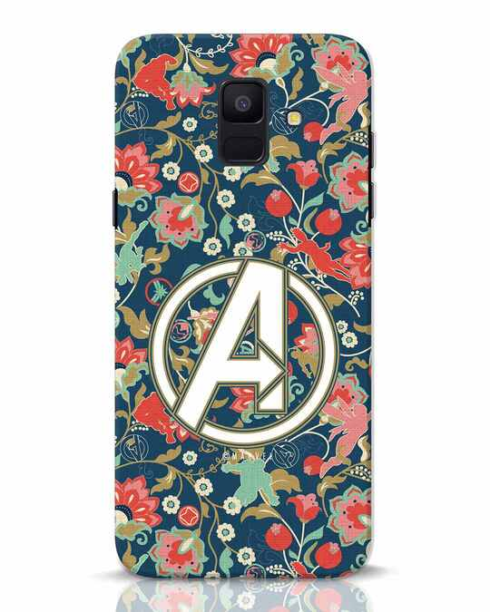 Shop Avengers Sketch Samsung Galaxy A6 2018 Mobile Cover (AVL)-Front