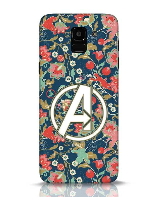 Shop Avengers Sketch Samsung Galaxy J6 Mobile Cover (AVL)-Front
