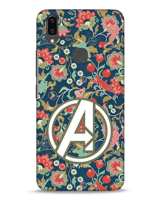 Shop Avengers Sketch Vivo V9 Mobile Cover (AVL)-Front