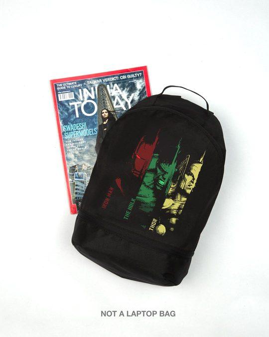 Shop Avengers Team Essential Mini Backpack (AVL)-Front