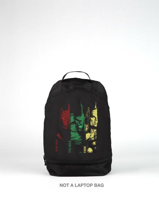 Shop Avengers Team Essential Mini Backpack (AVL)-Back