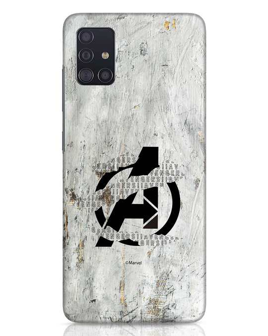 Shop Avengers Tear Samsung Galaxy A51 Mobile Cover (AVL)-Front