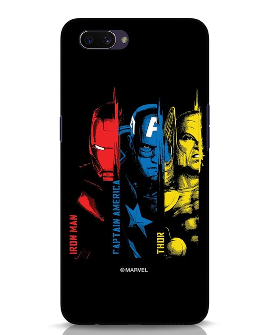 Shop Avengers Trio Oppo A3S Mobile Cover (AVL)-Front