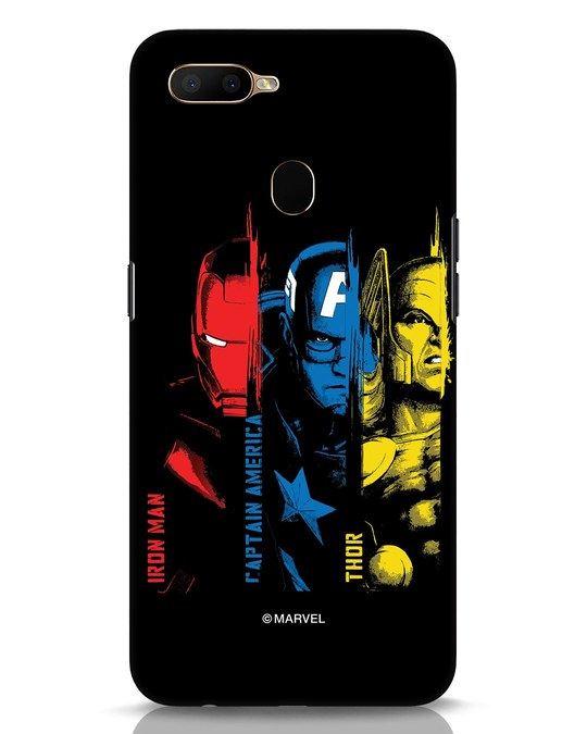 Shop Avengers Trio Oppo A5s Mobile Cover (AVL)-Front