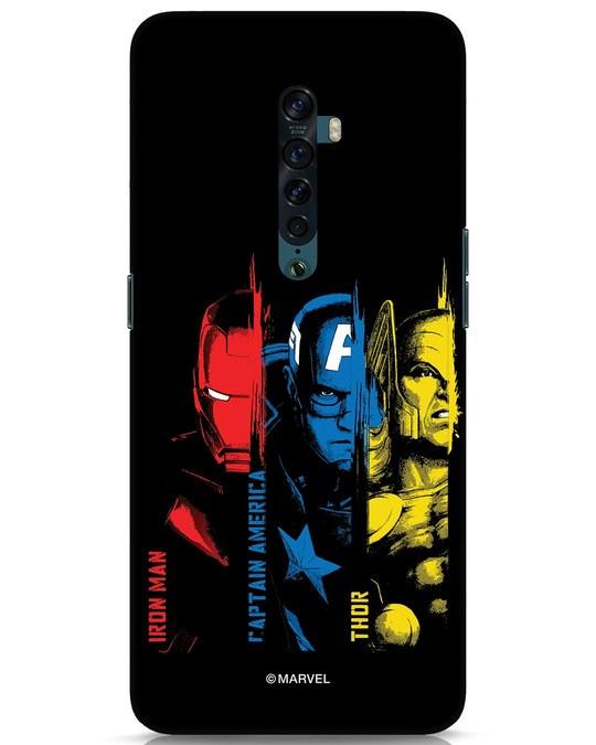 Shop Avengers Trio Oppo Reno 2 Mobile Cover (AVL)-Front