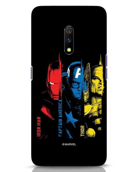 Shop Avengers Trio Realme X Mobile Cover (AVL)-Front