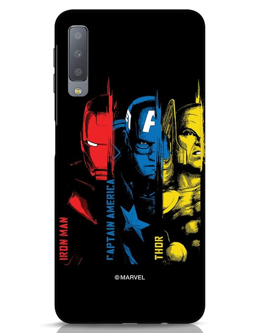 Shop Avengers Trio Samsung Galaxy A7 Mobile Cover (AVL)-Front
