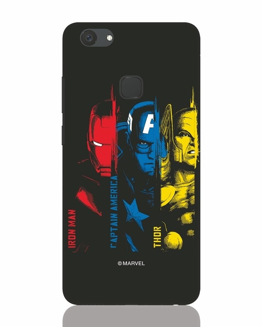 Shop Avengers Trio Vivo V7 Plus Mobile Cover (AVL)-Front