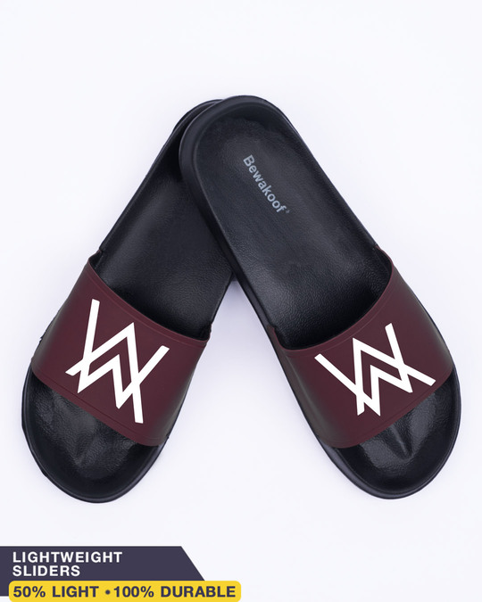 Shop Aw Logo Lightweight Men's Slider-Front