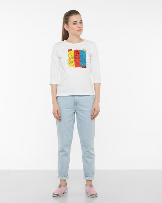 Shop Aw Man Duck Tales 3/4th Sleeve T-Shirt ( DL )-Design