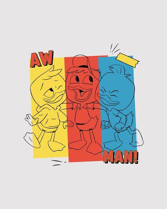 Shop Aw Man Duck Tales Boyfriend T-Shirt ( DL )-Full
