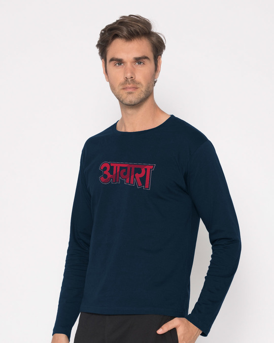 Shop Awara Full Sleeve T-Shirt-Back
