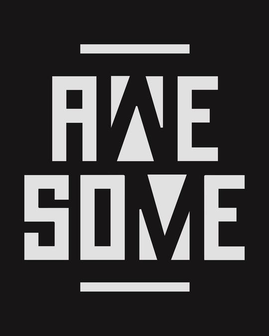 Shop Awesome Negative Boyfriend T-Shirt-Full